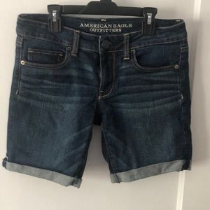 American Eagle jean shorts. Size 4